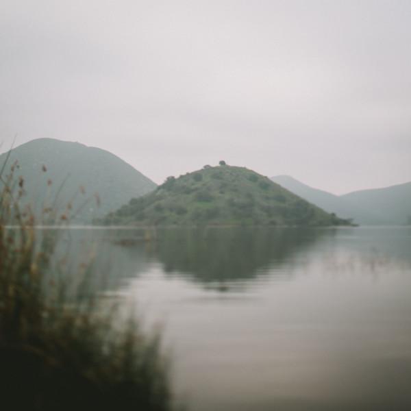 The Foggy Lake at Dawn