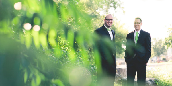 Wedding by the River – Photo by Let's Frolic Together