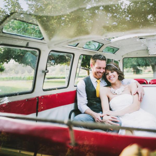 Handcrafted Bates Nut Farm Wedding