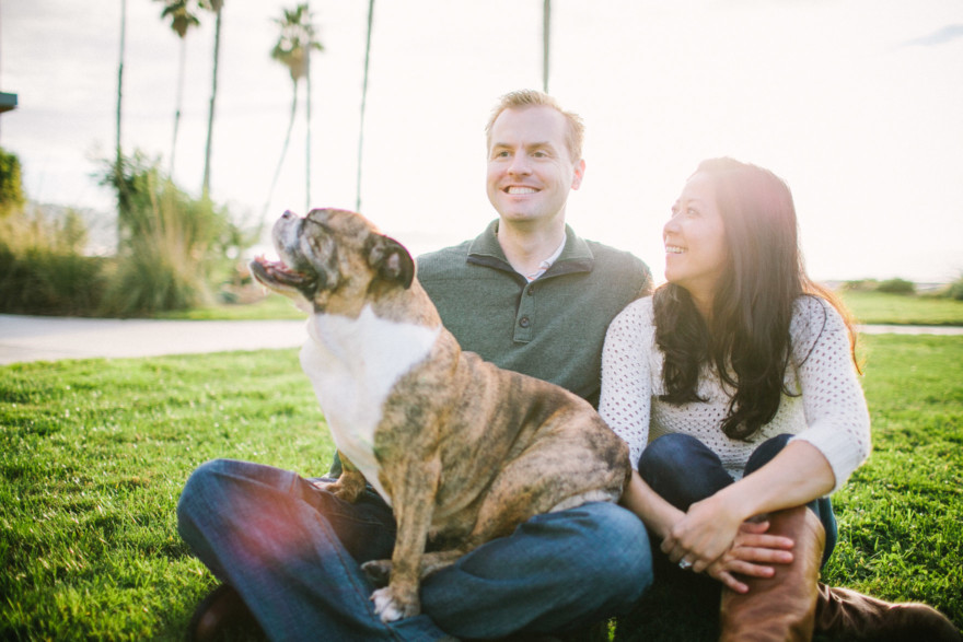 A Bulldog Family Park Frolic – Photo by Let's Frolic Together
