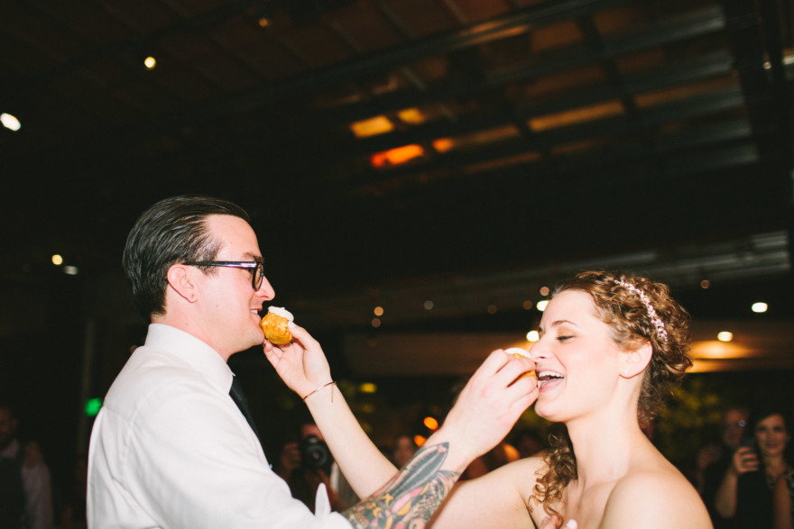 SmogShoppe Tattooed Wedding – Photo by Let's Frolic Together