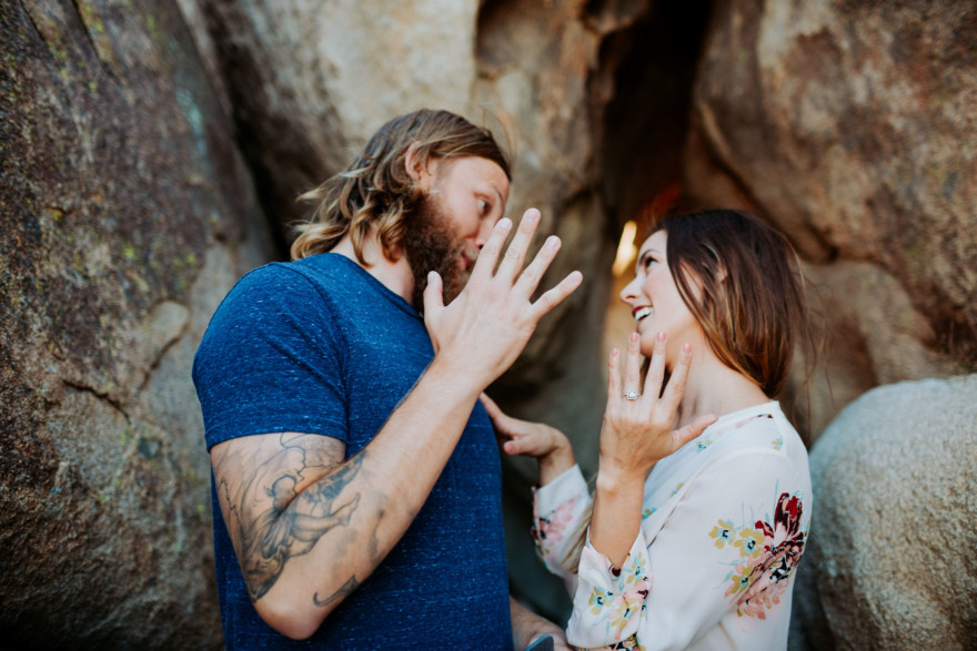 What Do I Do With My Hands? – Photo by Let's Frolic Together