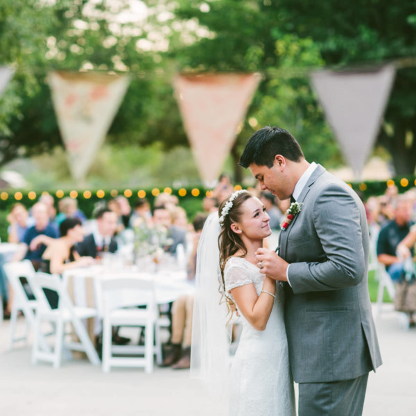 A Sweet Pink Bates Nut Farm Wedding