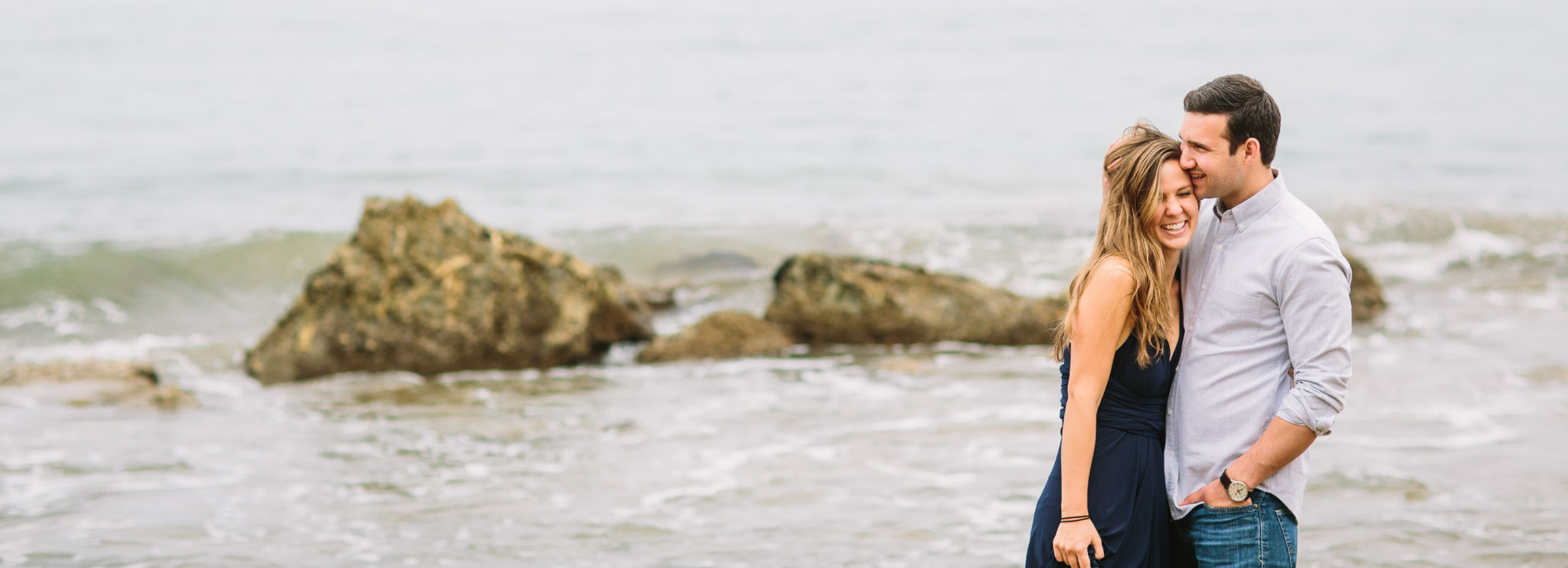 A ridiculous and awesome Long Beach Engagement session