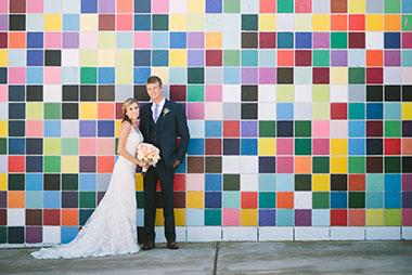 Garden Party Wedding at La Jolla Woman's Club