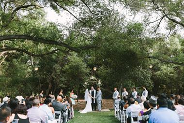 Pink Rustic Temecula Creek Inn Wedding