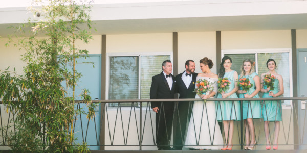 A Wild Retro Tiki Wedding at the Pearl Hotel