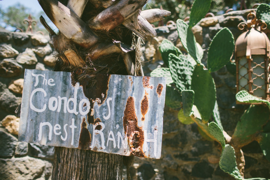 Love At The Condor's Nest Ranch – Photo by Let's Frolic Together