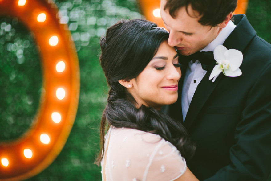 Art Deco Wedding at the Oviatt – Photo by Let's Frolic Together
