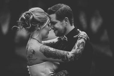 Creative Tim Burton-Inspired Wedding