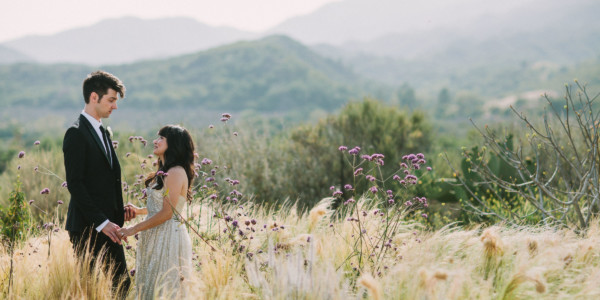 Cat lovers' Ojai Ranch Wedding