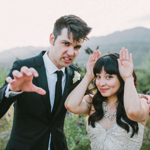 Cat lovers' Ojai Ranch Wedding