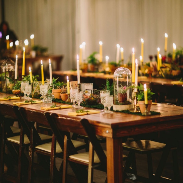Candlelit Magic at Moniker Warehouse
