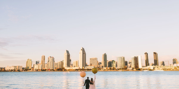 Fun and Flirty Coronado Wedding