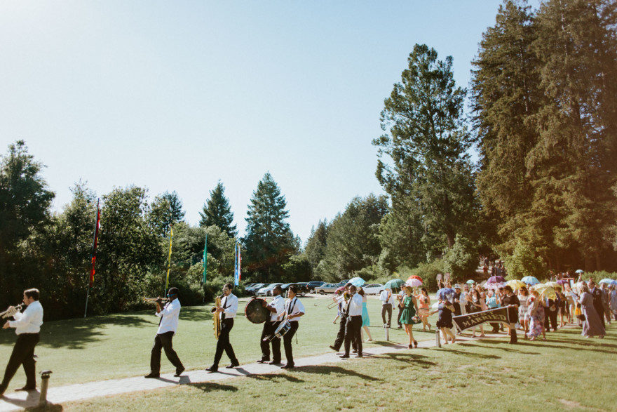 Music Festival Wedding at Pema Osel Ling – Photo by Let's Frolic Together