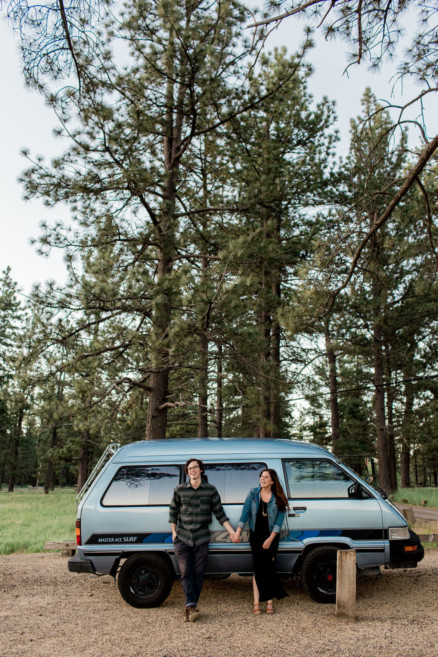 Vintage Van Mountain Adventure – Photo by Let's Frolic Together