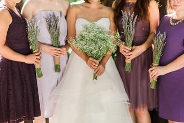 Pretty, DIY Redwoods Wedding