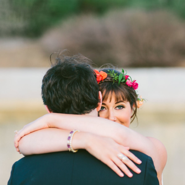 Colorful Scripps Seaside Wedding