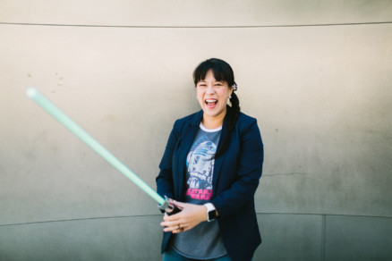 A Family Salute to Star Wars – Photo by Let's Frolic Together
