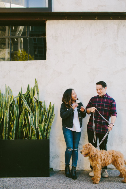 Urban Wandering + Golden Doodle – Photo by Let's Frolic Together