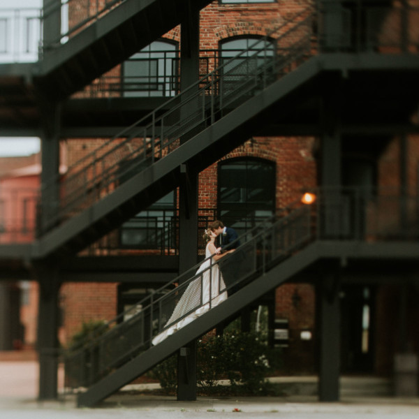 Urban East Coast Loft Wedding