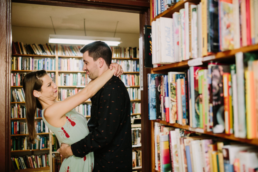 Drinks, Books, and All the Fun – Photo by Let's Frolic Together