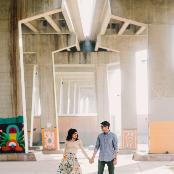 Playful Barrio Logan Engagement