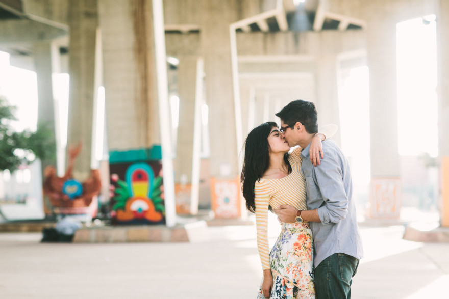 Playful Barrio Logan Engagement – Photo by Let's Frolic Together