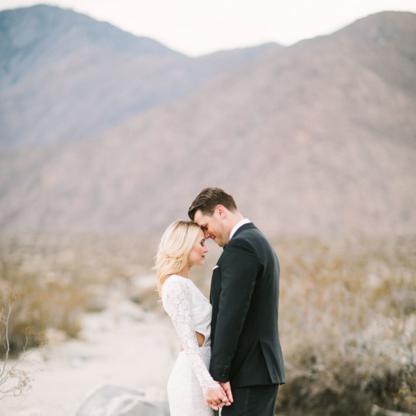 Modern Glam Palm Springs Wedding