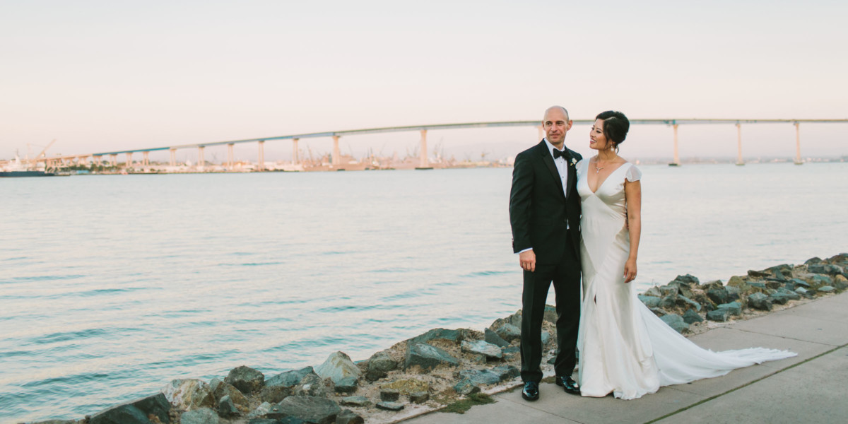 Dreamy Seaside Coronado Wedding – Photo by Let's Frolic Together