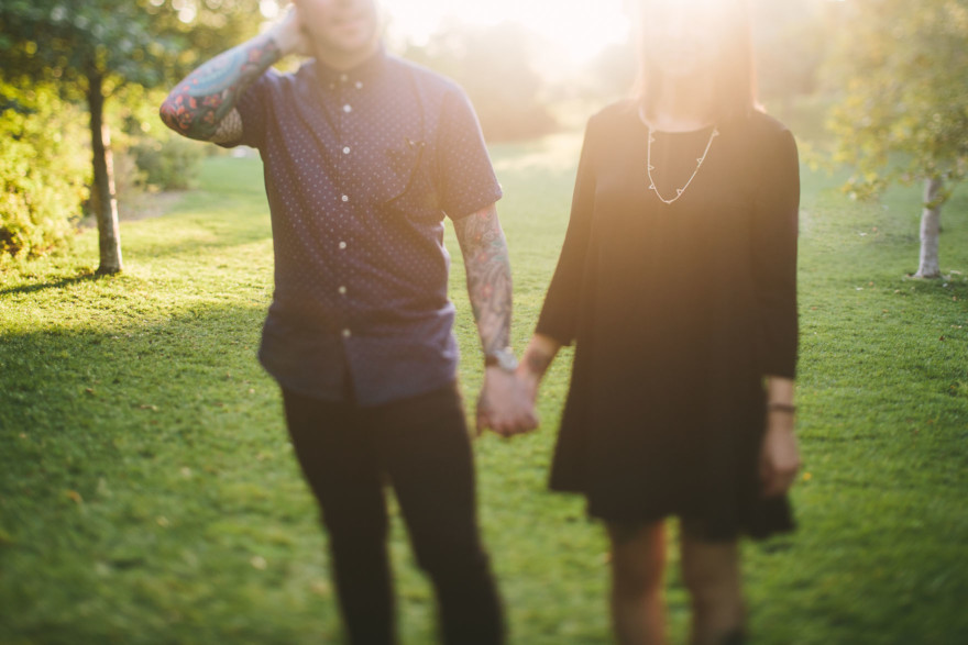 Tattooed Portraits Overlooking L.A. – Photo by Let's Frolic Together