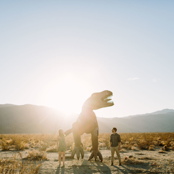 A Wild Desert Dinosaur Adventure – Photo by Let's Frolic Together