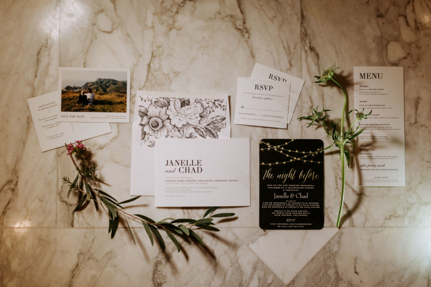 Tender Parker Palm Springs Wedding – Photo by Let's Frolic Together
