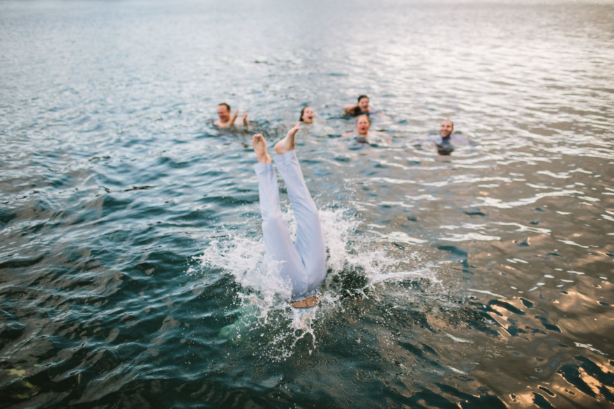 Go Jump in a Lake! – Photo by Let's Frolic Together