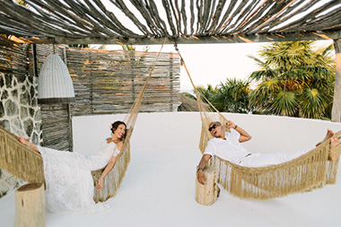 Modern Tropical Tulum Wedding