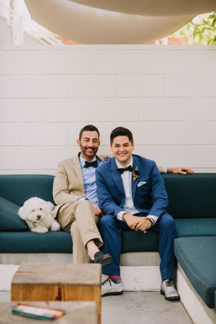 Kitschy Wild West Same-Sex Wedding – Photo by Let's Frolic Together