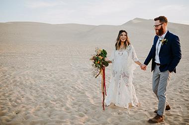 Nomadic Sand Dunes Wedding Inspo