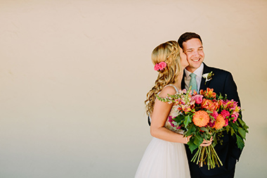 Colorful Santa Ynez Wedding
