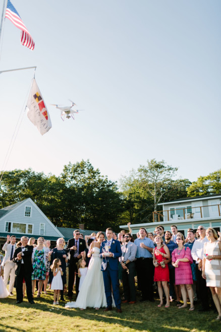 A Dreamy Seaside Union in Maine – Photo by Let's Frolic Together