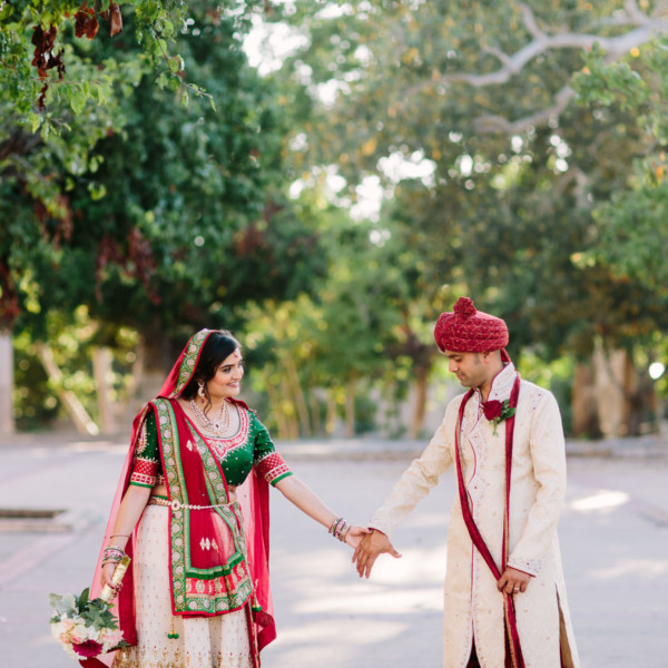 Colourful Indian Wedding Portraits
