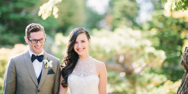 Bay Area Dreamy Garden Wedding