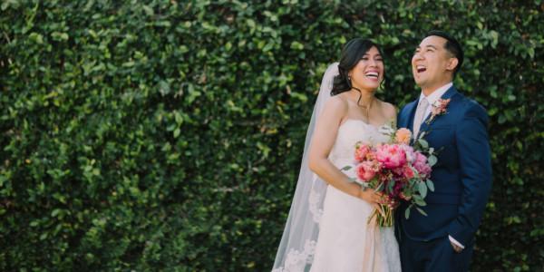Playful, Vibrant Brick Wedding