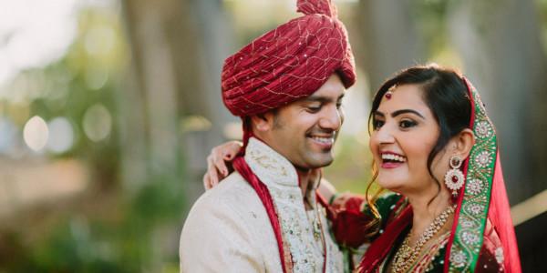 Colourful Indian Wedding Portraits