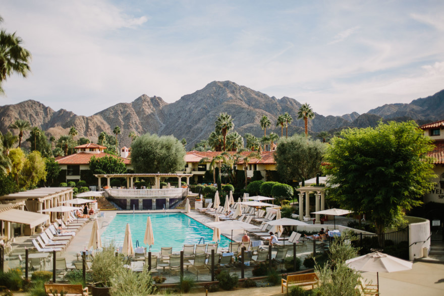 Old World Palm Springs Love – Photo by Let's Frolic Together