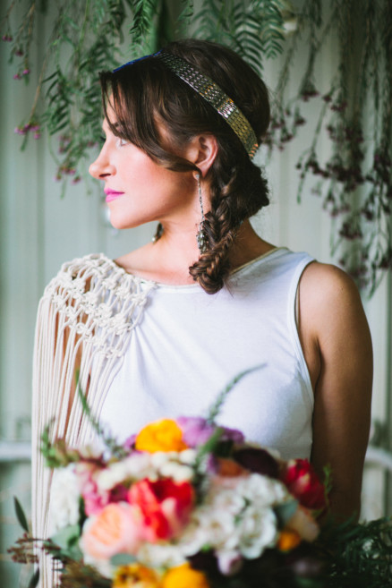 Macrame Boho Dreams Come True – Photo by Let's Frolic Together