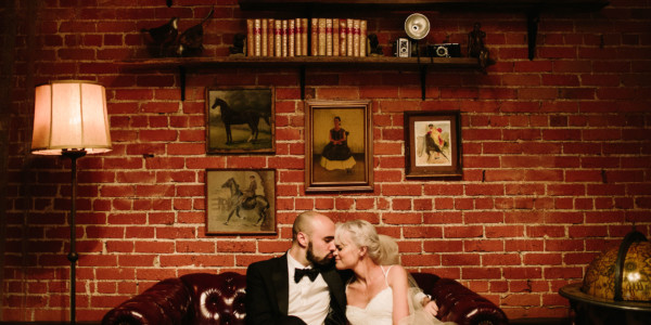 Tender Carondelet House Wedding