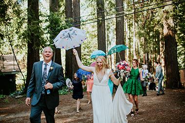Redwoods Music Festival Wedding