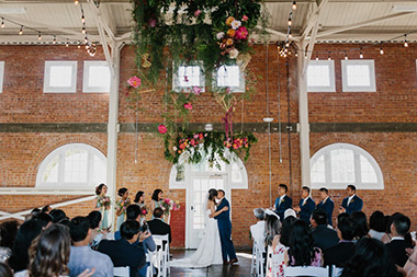 Colorful Brick SD Wedding
