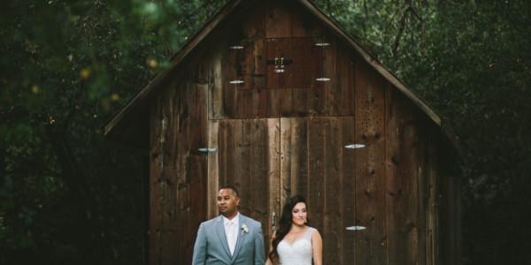 Rustic Wedding Glamor