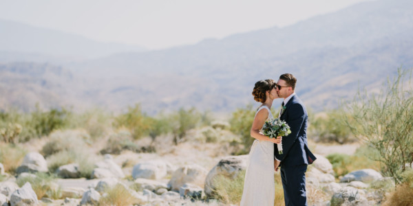 Backyard Palm Springs Wedding